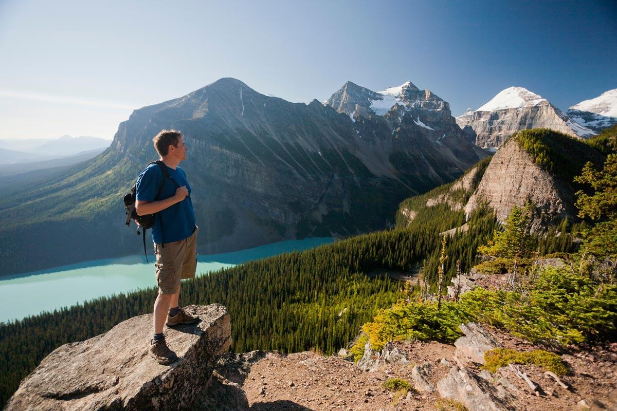 Rando Lake Agnes, Parc de Banff