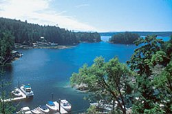 Smuggler Cove Marine Provincial Park