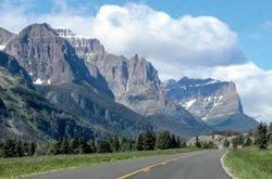 Route du Soleil, Glacier park