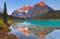 Edith Cavell Mount, Jasper