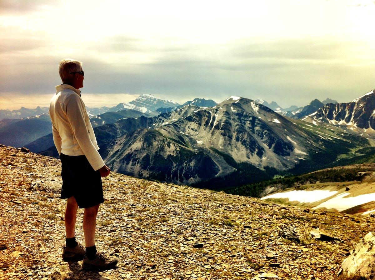 Rando au sommet du Mont Whistler