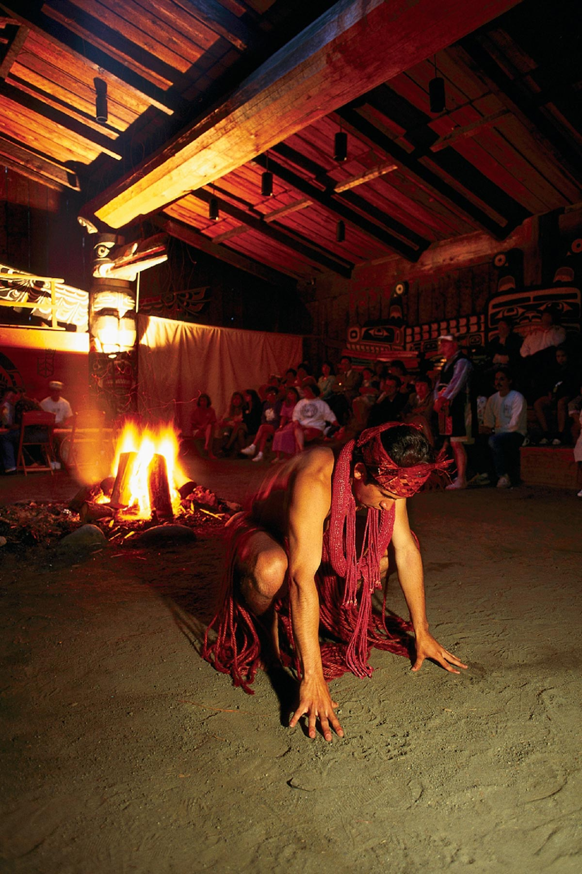 Culture amérindienne des Kwagiulth