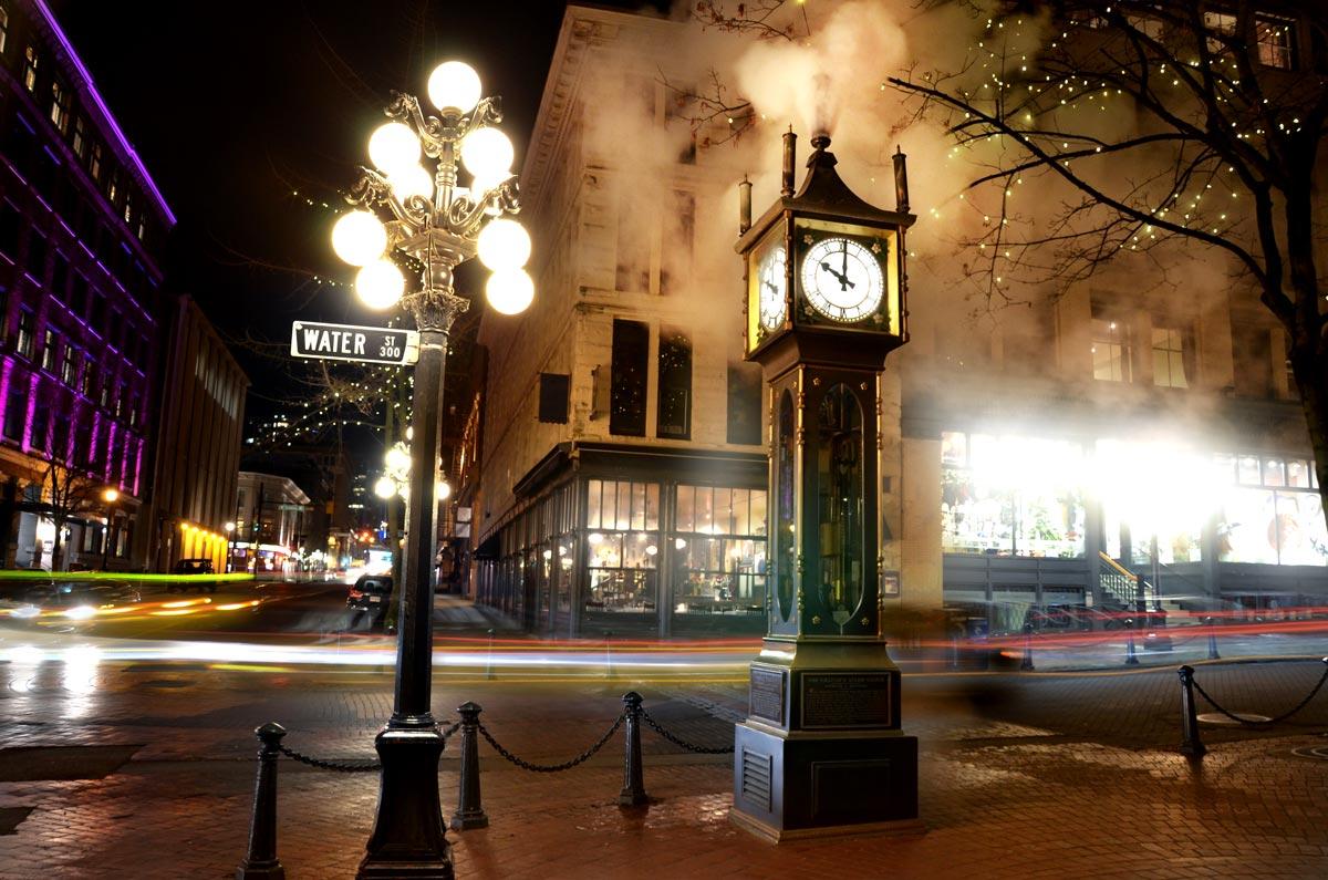 Horloge à vapeur du Gastown