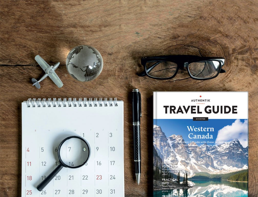 Plan your trip in western Canada