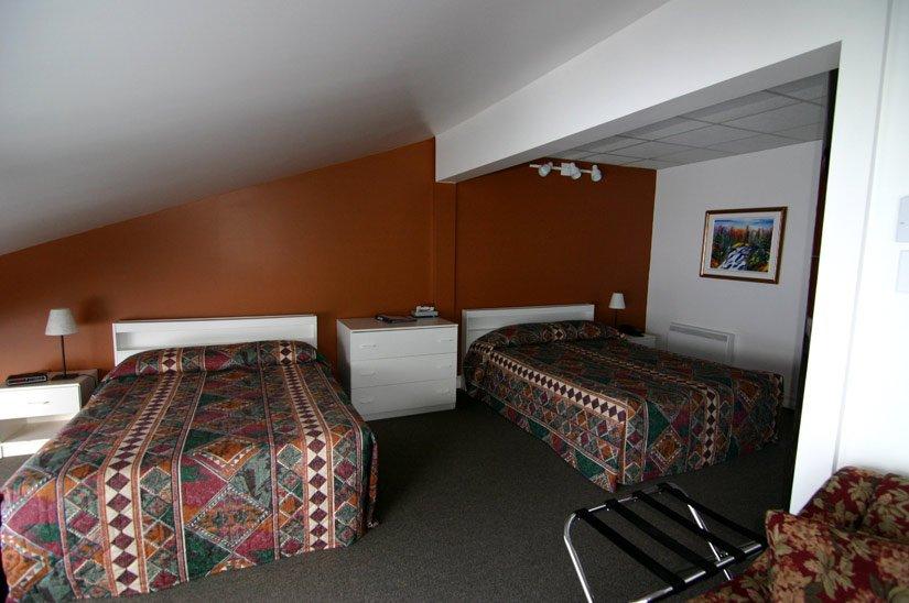 Auberge de la Rivière Saguenay - Chambre 2 lits