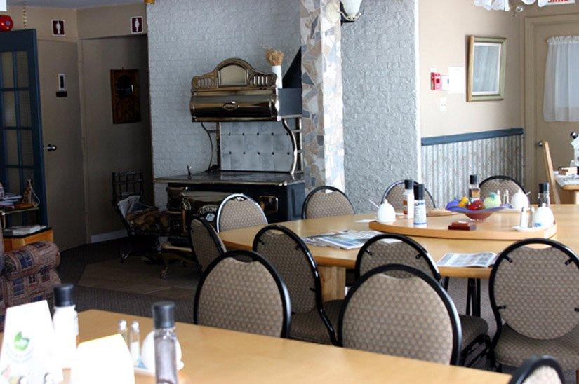 Auberge de la Rivière Saguenay - Salle à manger