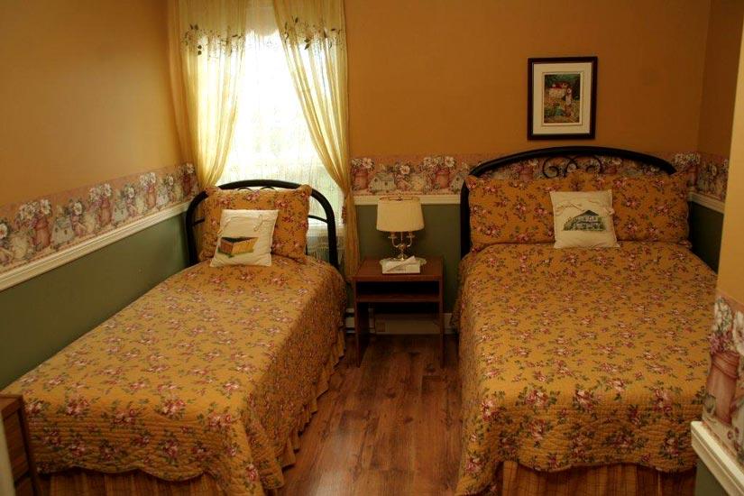 Auberge du Presbytère - chambre 2 lits