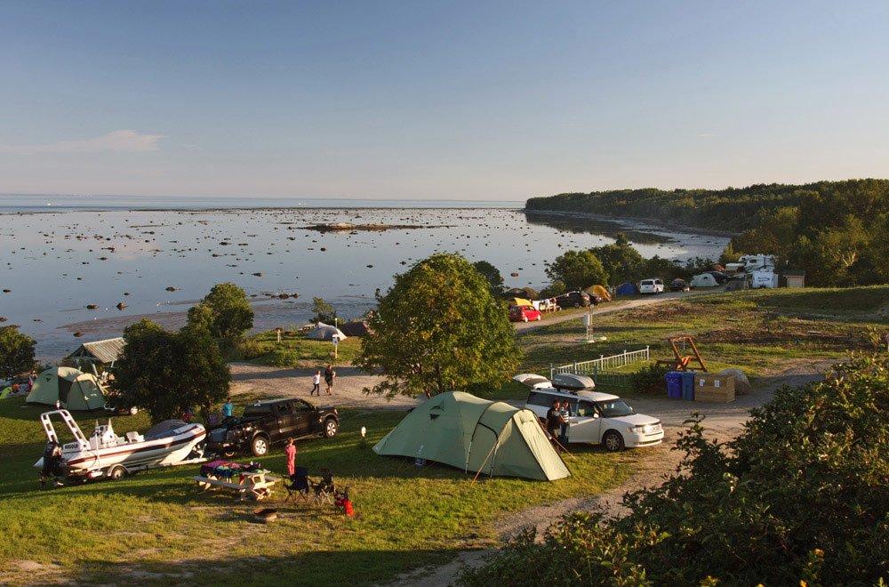 Camping Bon-Désir - Tentes, Roulottes