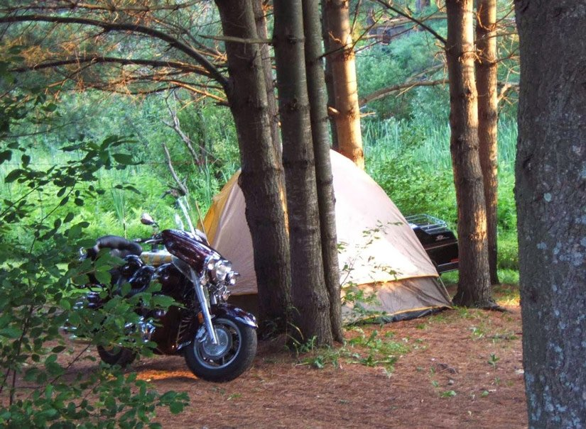 Camping Cantley - Tente