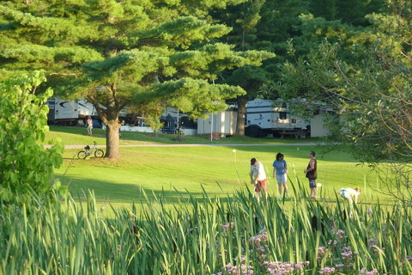 Camping Cantley - Golf