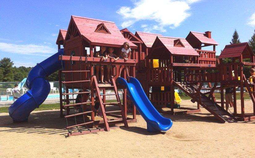 Camping Cantley - terrain de jeux