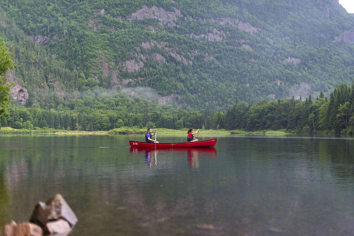 Point de vue exceptionnel - Parc des Hautes-Gorges