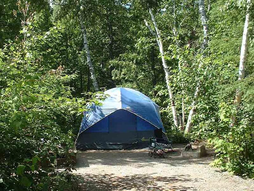 Camping de Val-Jalbert - Tente