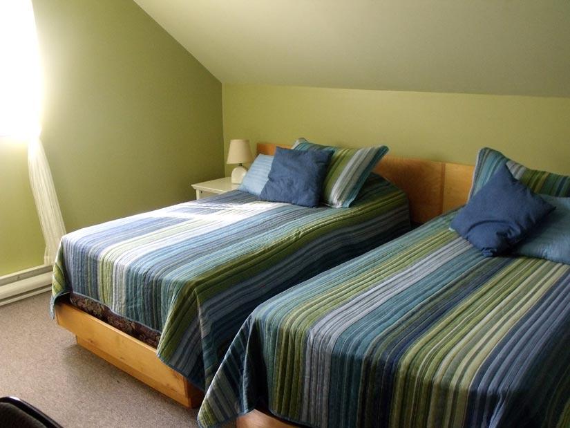 Coucher chez l'habitant au Lac St-Jean - chambre 2 lits