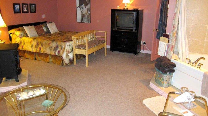 Gîte Blue Cables - Chambre suite avec jacuzzi