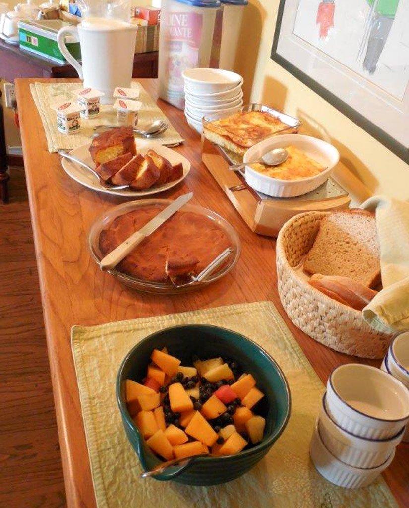 Gîte l'Écureuil - Petit déjeuner