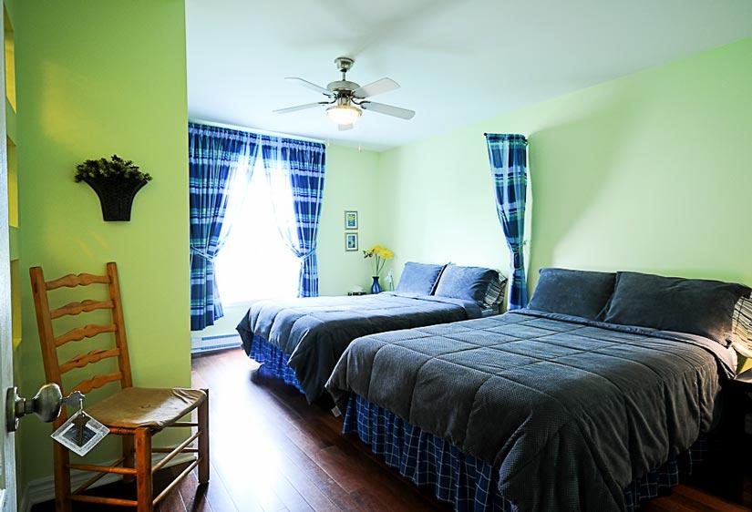 Gîte le Voyageur - Chambre 2 lits