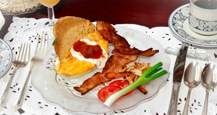 Gîte Sleepy Hollow - Petit-déjeuner
