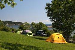 Camping Bon-Désir tentes