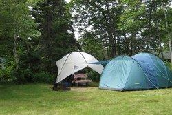 Camping dans le secteur Ingonish, Cap-Breton
