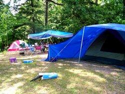 Camping Ivy Lea Koa - terrain pour tente
