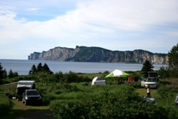 parc forillon camping