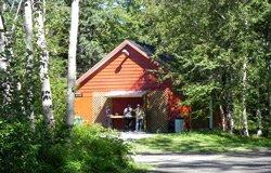 Camping de la Rivière Matane - Bloc sanitaire