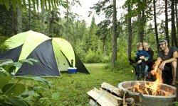 Camping de la Rivière Matane - Tente