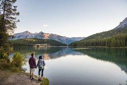 Lac Minnewanka, Banff, AB