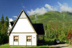 Chalet - Parc de la Gaspésie, Qc