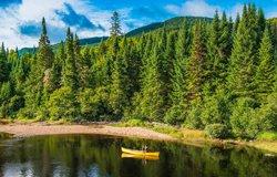 Randonnée en canot - Parc MOnt-Tremblantre