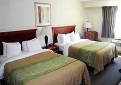 Comfort Inn & Suites - Chambre 2 lits