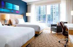 Delta Toronto - Chambre 2 lits