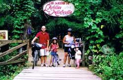 Jardins de l'Achillée Millefeuille - Vélo