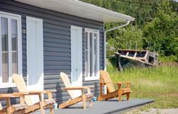 Motel Chalet Baie de Gaspé - Terrasse