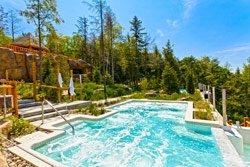 Pourvoirie Sacacomie - Bains tourbillon