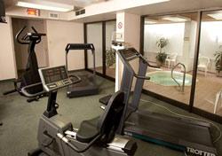 salle d'entrainement d'un hotel