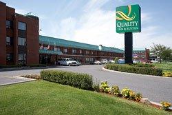 façade de l'hotel quality Inn