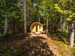 Sauna en pleine nature