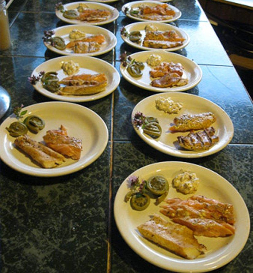 Pourvoirie Club Gatineau - Repas