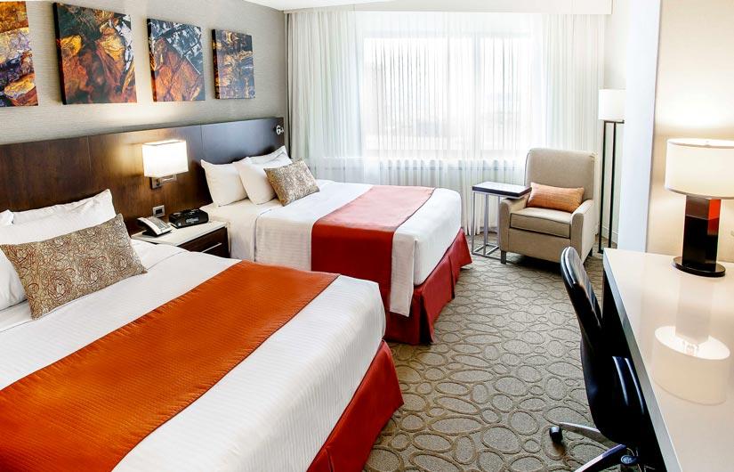 Hôtel Delta Québec - Chambre 2 lits