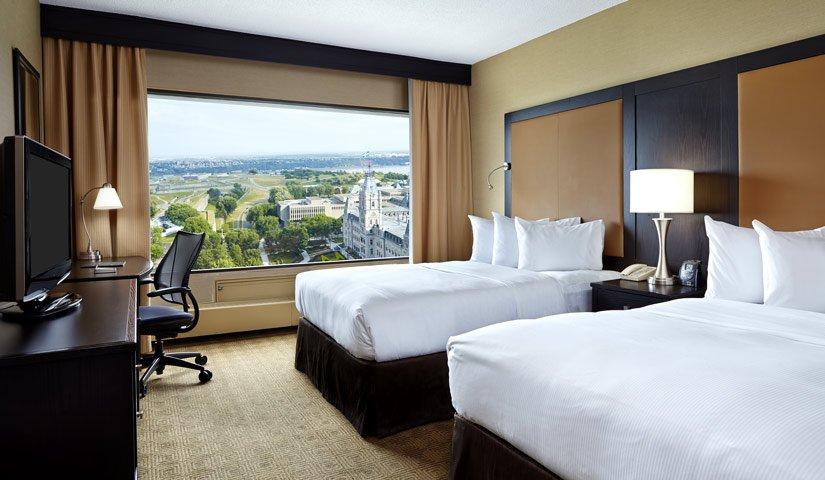 Hôtel Hilton Québec - Chambre 2 lits