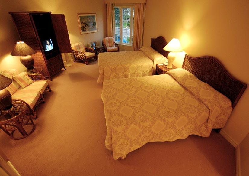 Hôtel la Normandie - Chambre 2 lits