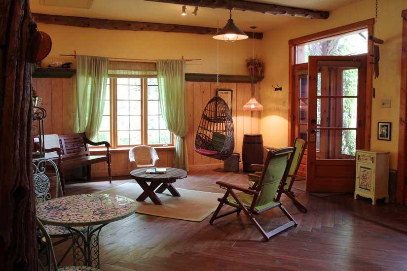 Jardins de l'Achillée Millefeuille - Suite, salon