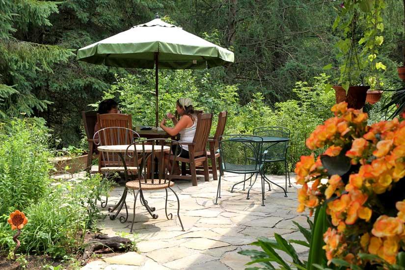 Jardins de l'Achillée Millefeuille - Terrasse