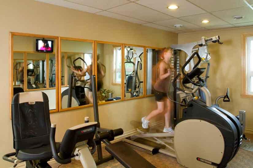 Manoir Belle Plage - Salle de Gym