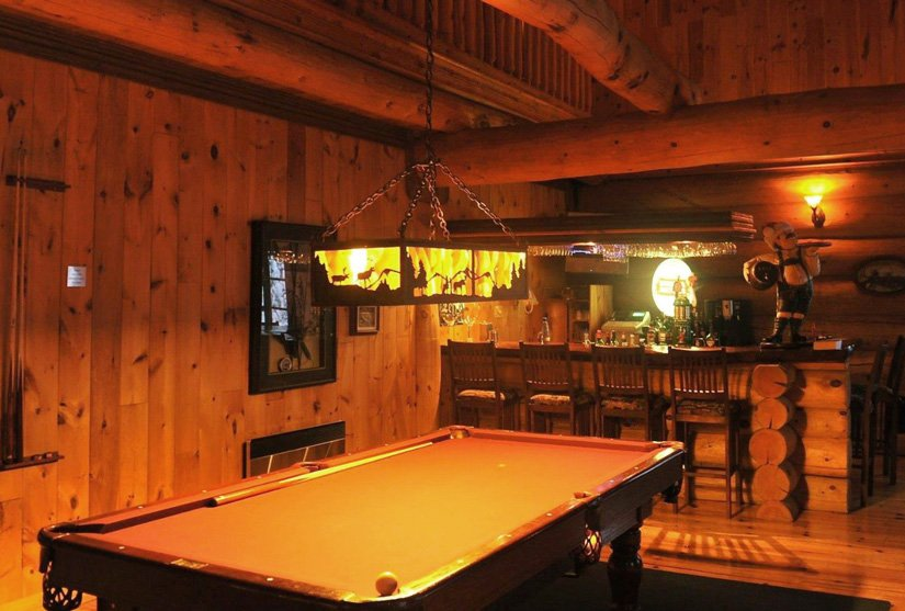 Pourvoirie du Ravage - Bar et salle de billard