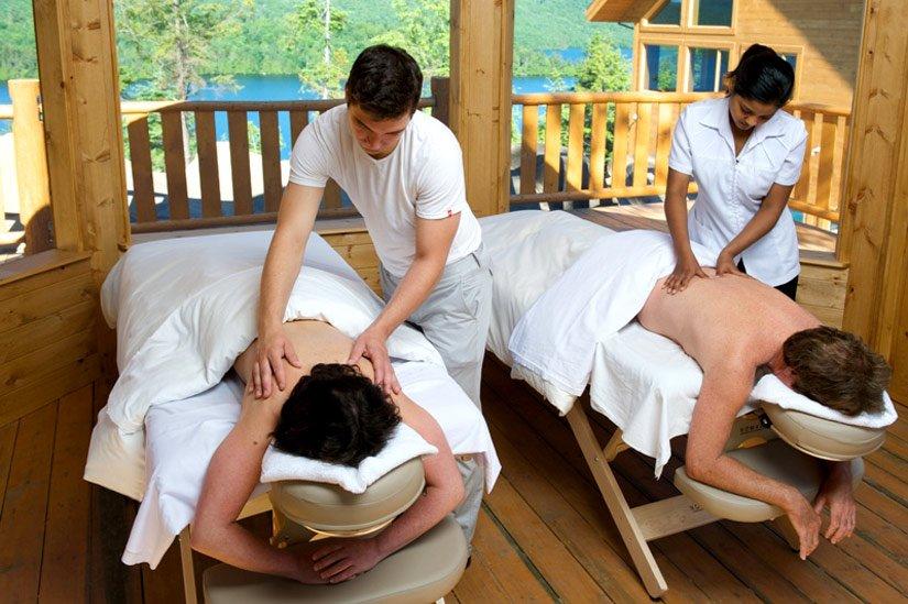 Pourvoirie Sacacomie - Massage