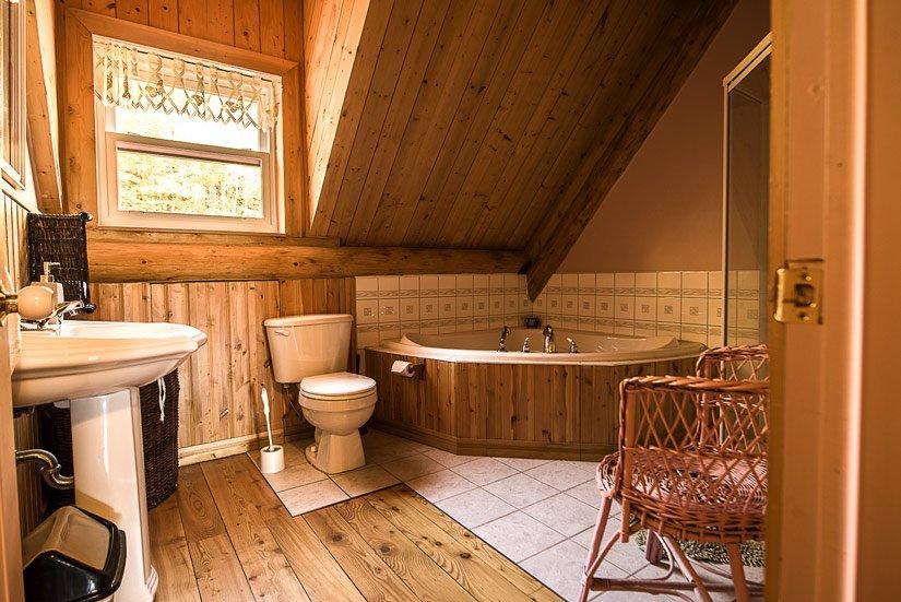 Auberge de la Pourvoirie Valga - Salle de bain