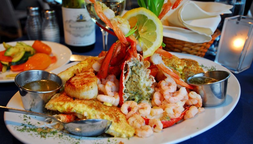 Riotel Bonaventure - Assiette de fruits de mer